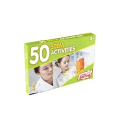 Junior Learning 50 Stem Educational Activity Cards for Science