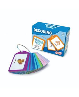Junior Learning Decoding Teach Me Tags - 168 Educational Flashcards