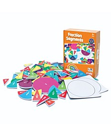 Junior Learning Fraction Segments - Magnetic Activities Learning Set