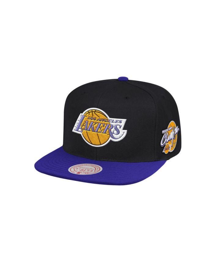 Mitchell & Ness Los Angeles Lakers Hardwood Classic Anniversary Patch 2 Tone Snapback Cap & Reviews - NBA - Sports Fan Shop - Macy's