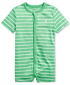 Ralph Lauren Baby Boys Striped Cotton Jersey Shortall