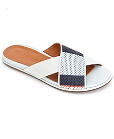by Kenneth Cole Women's Lark Cross Elastic Slides