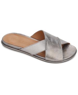 by Kenneth Cole Women's Lark Cross Elastic Slides Women's Shoes