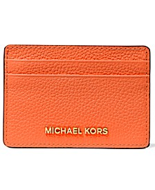 Pebble Leather Card Holder