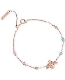 Rainbow Bee Bracelet