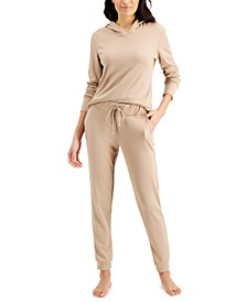 Thermal Hoodie & Jogger Separates, Created for Macy's