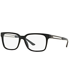VE3218 Men's Square Eyeglasses