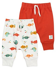 2-Pack Organic Cotton Pant in Chameleon Print