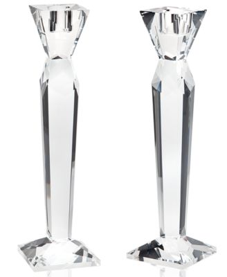 Lighting by Design Prism Candlestick Pair