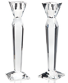 Godinger Lighting by Design Prism Candlestick Pair