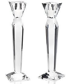 Godinger Lighting by Design Prism Candlestick Pair