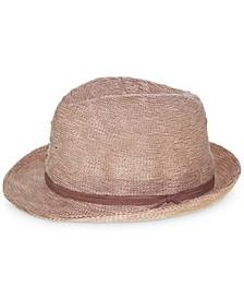 Textured Knit Fedora Hat