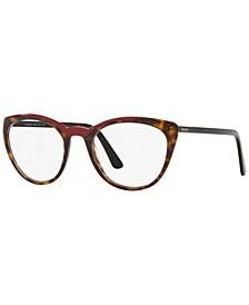 PR 07VV Women's Butterfly Eyeglasses