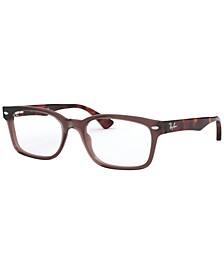 RX5286 Unisex Rectangle Eyeglasses