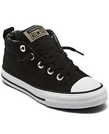 Big Boys Chuck Taylor All Star Street Camo Mid Casual Sneakers from Finish Line