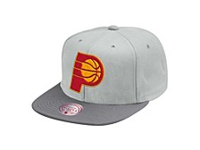 Indiana Pacers Cool Gray Snapback Cap