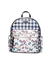 Mixed Nylon Backpack