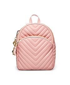 Pretty In Pastels Quilted Backpack