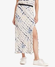 Good Times Tie Dye Midi Skirt