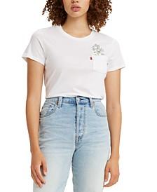 Cotton Printed Pocket T-Shirt