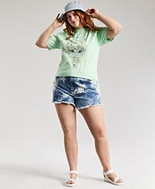 Plus Trendy Tinkerbell Watercolor T-Shirt