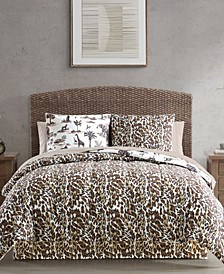 Safari Reversible Animal-Print Comforter Sets