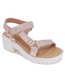 Little Girls Star Sandal