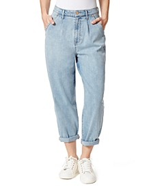 Cuffed Baggy Jeans
