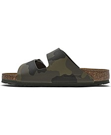 Women's Arizona Birko-Flor Soft Footbed Sandals from Finish Line