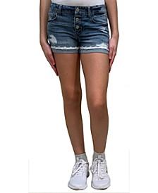 Big Girls Cuffed Shorts