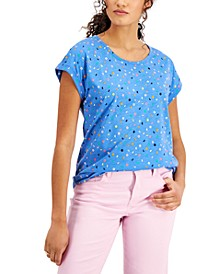 Mixed Dots Printed T-Shirt, Created for Macy's