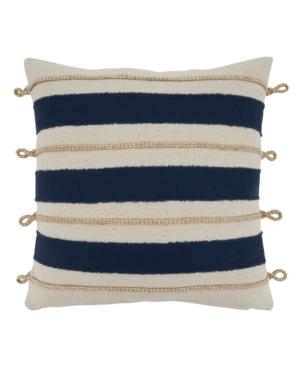 """Saro Lifestyle Pillows THROW PILLOW COVER, 18"""" X 18"""""""