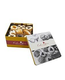 Assorted Gourmet Italian Cookies Tin