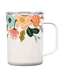 x 'Rifle' Paper Co. Lively Floral Insulated Mug, 16oz