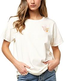 Juniors' Mystic Butterfly T-Shirt