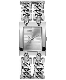 Women's Silver-Tone Stainless Steel Bracelet Watch 36x28mm