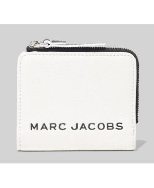 Marc Jacobs MINI COMPACT ZIP LEATHER WALLET