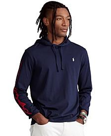 Men's Logo Jersey Hooded T-Shirt