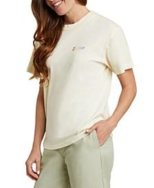 Juniors' Cotton Logo-Graphic T-Shirt