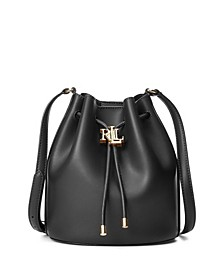 Andie Medium Leather Drawstring Bag