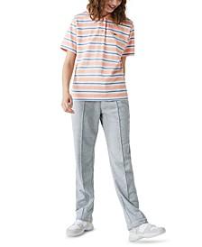 Cotton Striped Polo Top