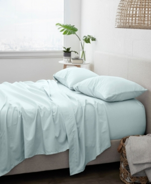 Ienjoy Home Home Collection Premium Ultra Soft 3 Piece Solid Bed Sheet Set, Twin Extra Long Bedding In Mint