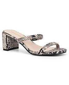 Women's Carlisle Slide Block Heel Dress Sandals