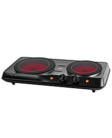 1700w Double Hot Plate Electric Countertop Infrared Stove