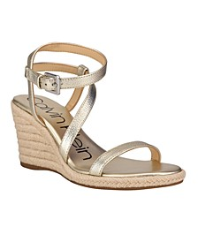 Women's Betsy Strappy Espadrille Wedge Sandals