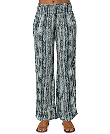 Johnny Bungalow Printed Woven Pants
