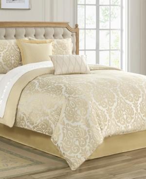 Waterford Comforters & quilts BASTIA JACQUARD 4 PIECE COMFORTER SET, QUEEN BEDDING