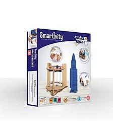 Smartivity Space Rocket 3D Wooden Model Building Toy for Kids