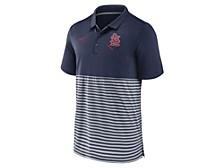 Men's St. Louis Cardinals Icon Stripe Polo Shirt