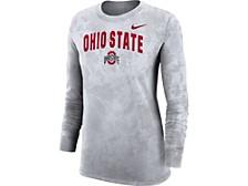 Women's Ohio State Buckeyes Tie Dye Long Sleeve T-Shirt